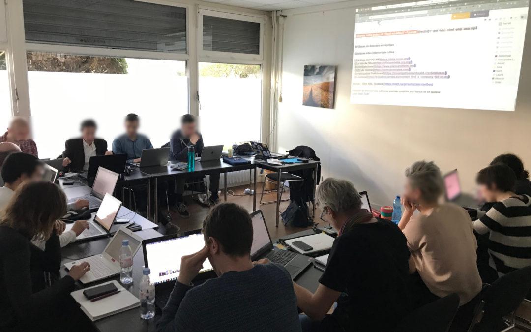 4e atelier OSINT OpenFacto – 16 et 17 novembre 2019 – Paris(F)