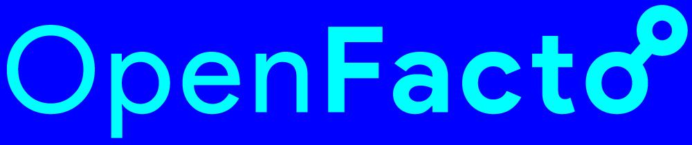 Logo officiel de l'association Openfacto