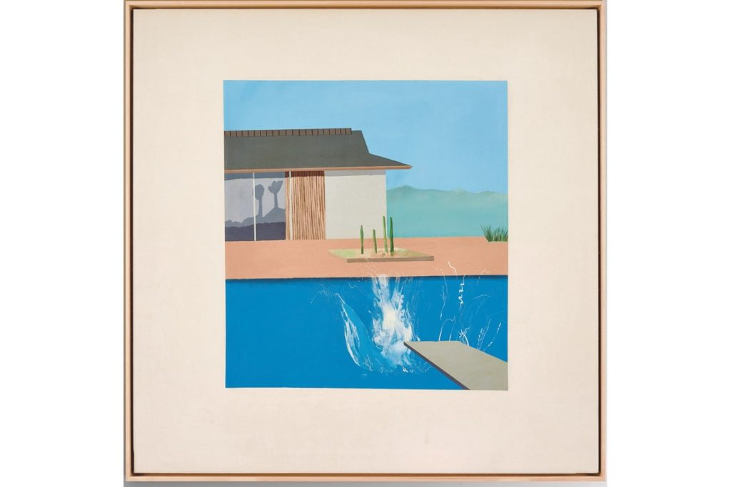 The splash david hockney