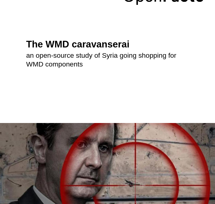 A decade into the Syrian war: OSINT as a tool to investigate Syria's chemical program supply chain